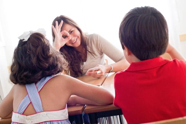 enseñar español a niños